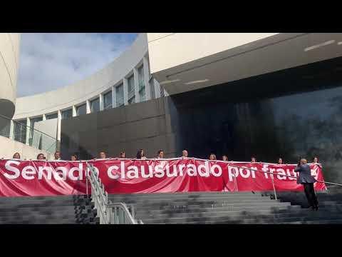 SENADO CLAUSURADO