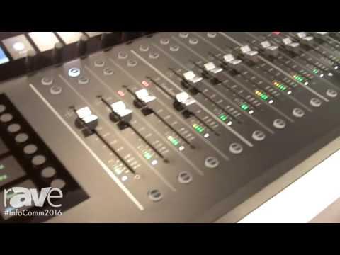 InfoComm 2016: Mackie Reveals Axis Digital Mixing System