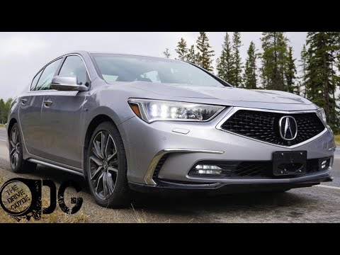 2018 Acura RLX SportHybrid Elite  - TheDriveGuyde Review