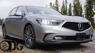 2018 Acura RLX SportHybrid Elite Review - All Wheel Drive Hybrid Sedan