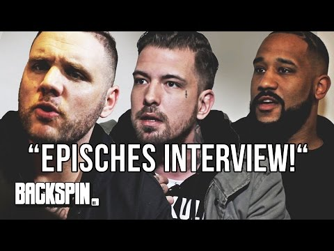"""Episches Interview!"" – Fler, Sentino und Jalil vs. Niko"