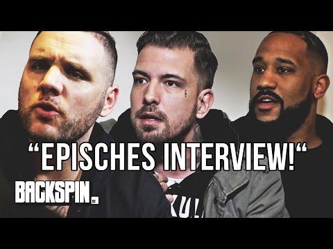 """""""Episches Interview!"""" – Fler, Sentino und Jalil vs. Niko"""