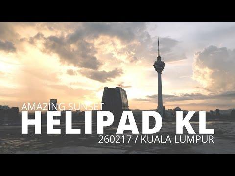 Amazing sunset in Kuala Lumpur, Malaysia | VLOG035
