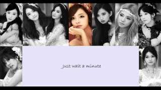 [Eng Sub] SNSD - Wait A Minute Lyrics