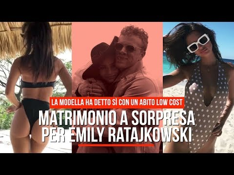 Matrimonio a sorpresa per Emily Ratajkowski, il fortunato è Sebastian Bear-McClard
