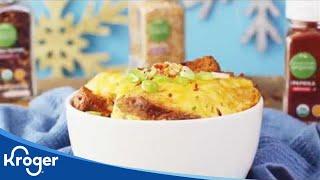 Holiday Breakfast Casserole │VIDEO │Kroger