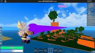 Kkkkkkkkk He died with a Ki blast (Roblox with Matheus Dragon Ball burst)