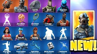 ALL FORTNITE LEAKED NEW SKINS, EMOTES & COSMETICS v7.30 Season 7