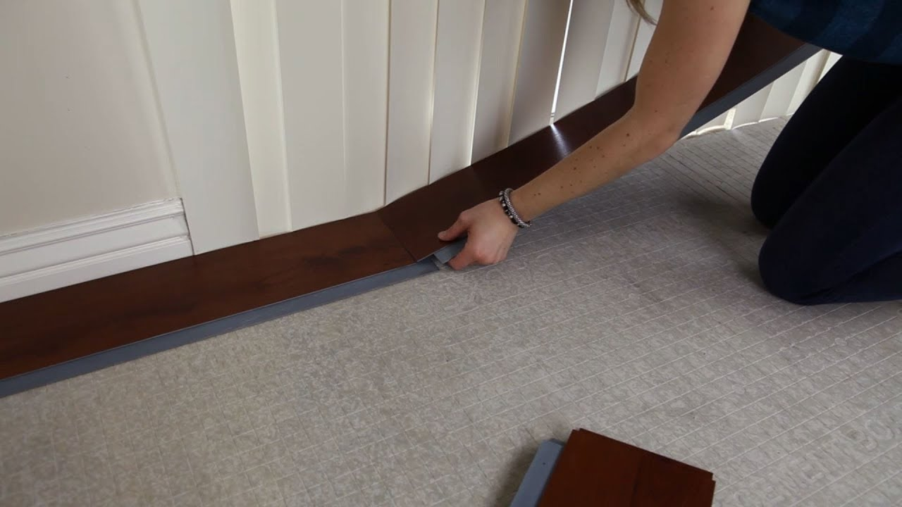 How to Install Self Adhering Vinyl Planks