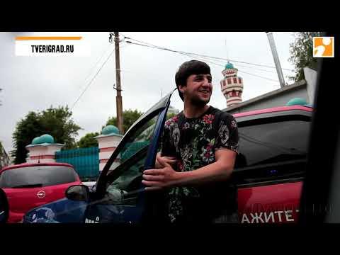 Рейд ГИБДД по парковке у мечети в Твери 1