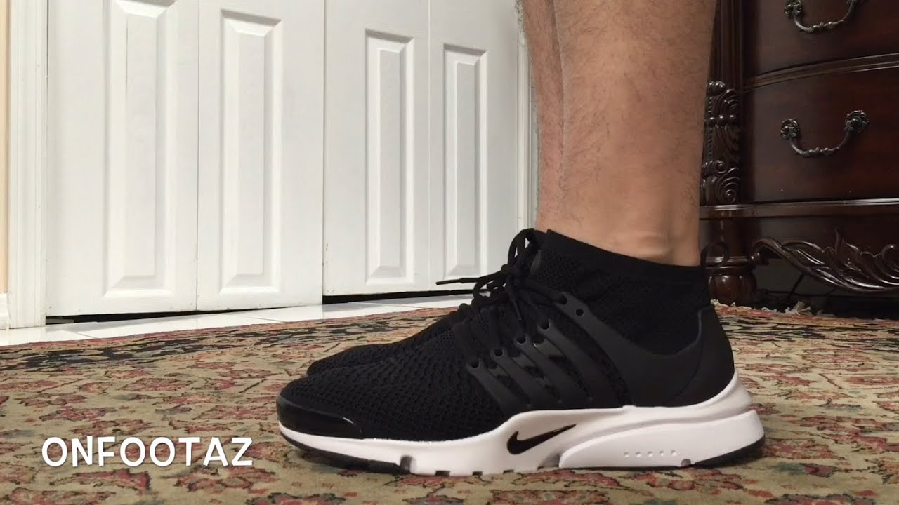 Nike Presto Flyknit On Feet