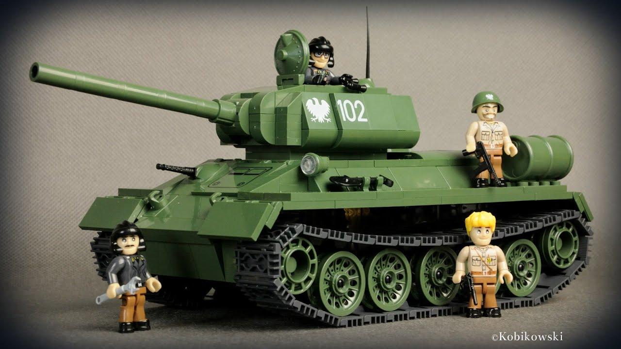 COBI Bitwa o Berlin #2-5 - T-34/85 + limitowana mata ...