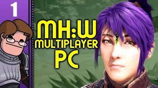 Let's Play Monster Hunter: World PC Co-op Part 1 - New Face, New Friends