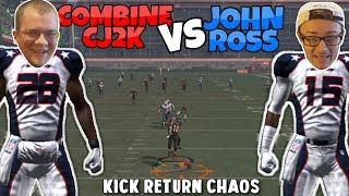 KICK RETURN CHAOS - SPEED WORLD RECORD EDITION!! Madden 17 Mini Games