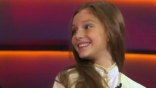 Динара Пашаева из Грозного в детском талант шоу  «Лучше всех» на Первом канале