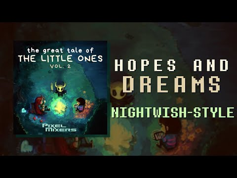 Hopes And Dreams - UNDERTALE | Nightwish-style Symphonic Metal Cover (Lyric Ver.)