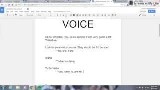Academic Voice
