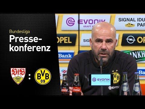 Livestream der Pressekonferenz vor dem Spiel in Stuttgart