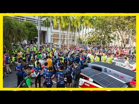 Breaking News | Marathon solar car race underway in australia
