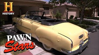 Pawn Stars: BIG PRICE TAG for 1951 STEVE MCQUEEN CHEVY (Season 8) | History