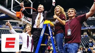 From near death to NCAA championship: Head coach Vic Schaefer inspired by son Logan | espnW