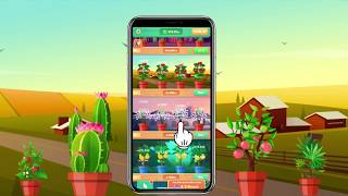 Plant Garden-idle game, lovely flower,beautiful plant