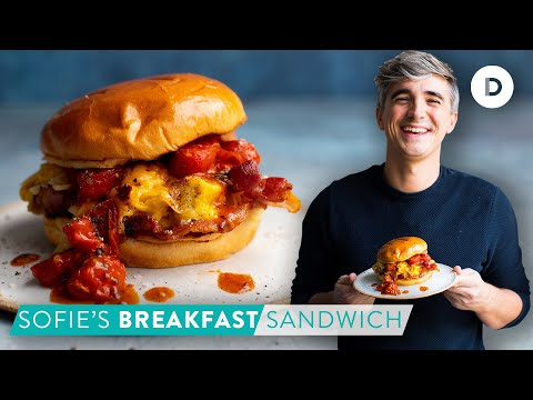 RECIPE: Sofie's BACON & EGG Breakfast Sandwich!