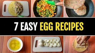 7 Healthy Egg Recipes for a Week !! 🇮🇳