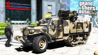 Bad SWAT Team Robs a BANK!! (GTA 5 Mods - Evade Gameplay)