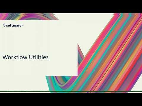 Workflow Utilities | webMethods.io Training