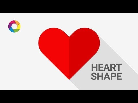 How to make hearth shape | Photoshop Tutorial thumbnail