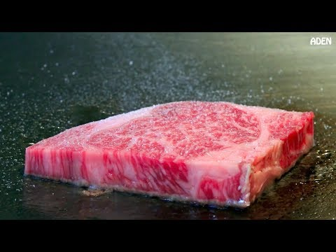 Rare Kobe Beef in Tokyo - Japanese Food Teppanyaki