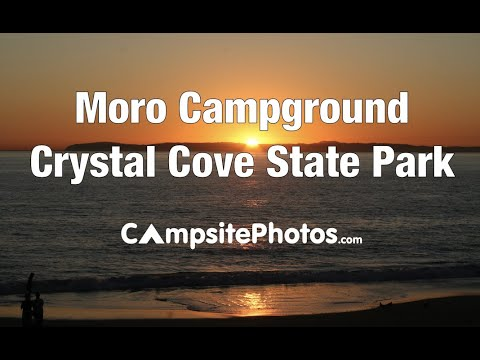 Moro Campground, Crystal Cove State Park, California Campsite Photos