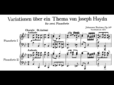 Brahms: Variations on a Theme by Haydn, Op.56b (Argerich and Freire)