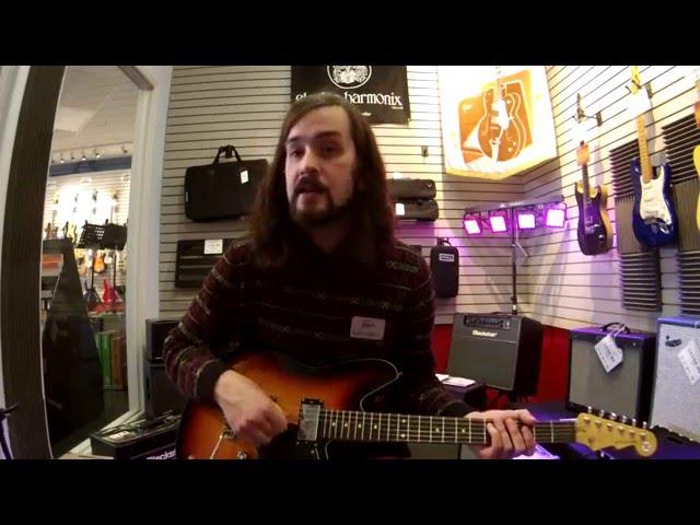 Fazios Frets Music - Reverend Kingbolt RA Sunburst Electric Guitar