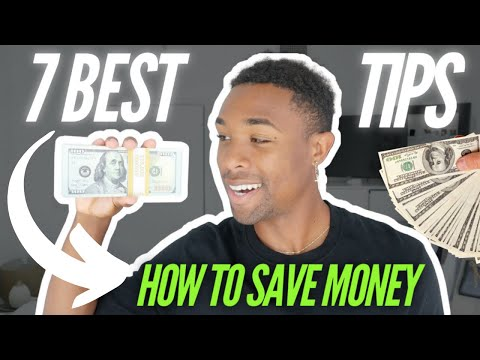 7 BEST Tips On How To Save Money (FAST METHODS)