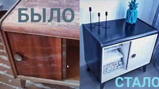 видео Вторая жизнь старой мебели