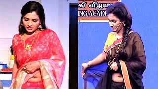 Sharanya Turadi Fleshy deep pond like navel [thoppul]