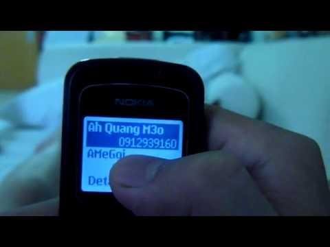 Nokia 1202 độ cảm ứng cực chất !
