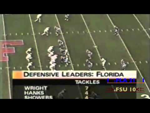 Florida-FSU 1995 Highlights: Don