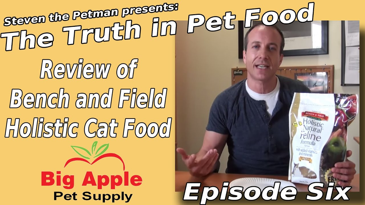 Bench And Field Holistic Cat Food