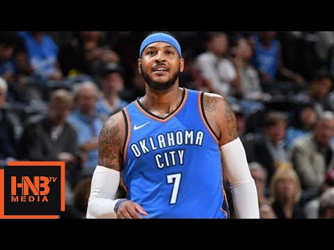 Oklahoma City Thunder vs New York Knicks 1st Qtr Highlights / Week 1 / 2017 NBA Season