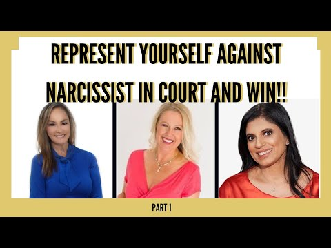 REPRESENT YOURSELF AGAINST NARCISSIST IN COURT: ONE MOM'S BATTLE W/ TINA SWITHIN AND DR  RAMANI