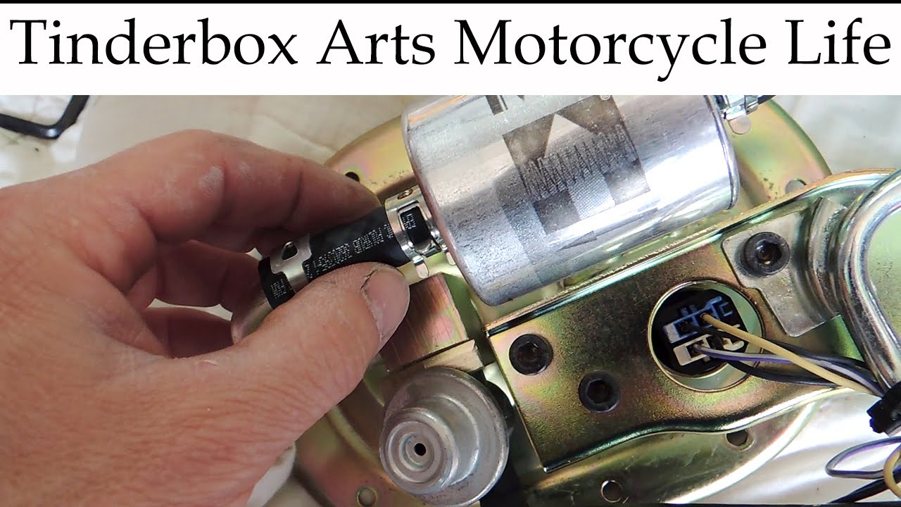 2010 Triumph Bonneville Fuel Filter Replacement