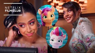 The Voices Behind My Little Pony: A New Generation | In The Booth | Netflix