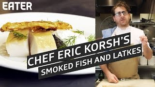 Smoked Fish And Latke With North End Grill Chef Eric Korsh Sponsored
