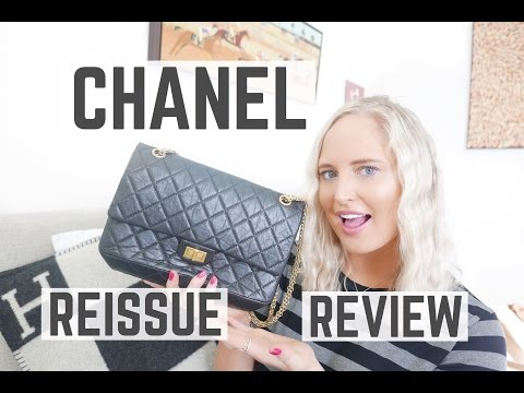 CHANEL REISSUE BAG REVIEW 2017 | Chloe James