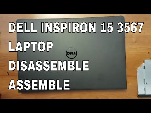 How to upgrade ram laptop dell inspiron 15 3567 i7 8gb