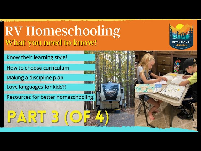 Homeschooling on the Road | Part 3 | Tips for Homeschoolers!