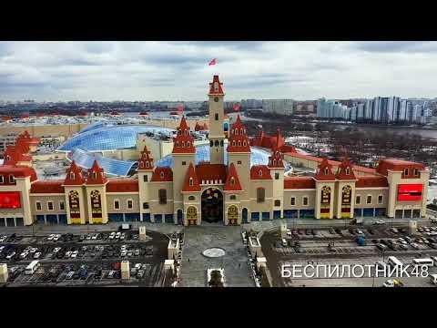 """Аэросъёмка Москвы - метро Технопарк, парк """"Остров мечты"""""""